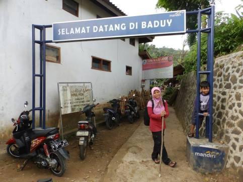 Selamat datang di Baduy. Doc. Donna Imelda