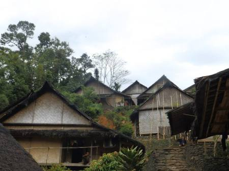 Rumah Adat Baduy. Photo by. Donna Imelda