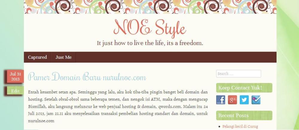 Blog baru NOE