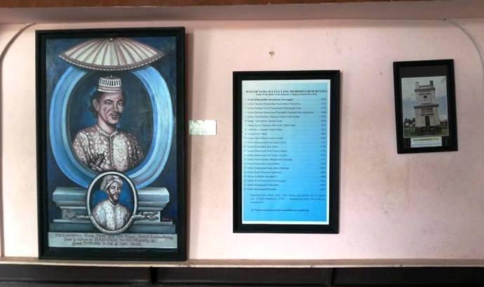 Lukisan dan silsilah raja