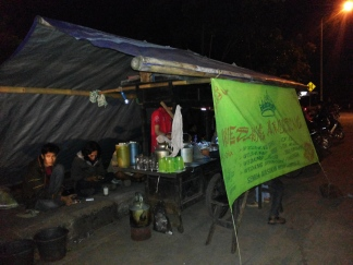 Angkringan (coffee and snack stall)