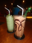 Dark chocolate for kids & lychee mojito for me