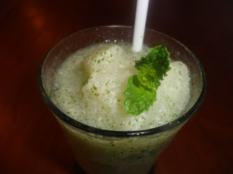 Lychee Mojito - Blended lychee and mint