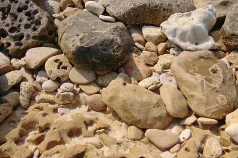 batu karang pantai goa cina Malang