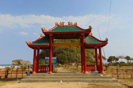gerbang pantai goa cina